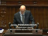 [22/395] Jerzy Pomianowski: Panie i Panowie Posłowie! Odpowiadając na pytanie pana posła Borko...