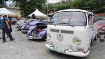 Aficionados del motor celebran el Día Mundial del Volkswagen en Manila