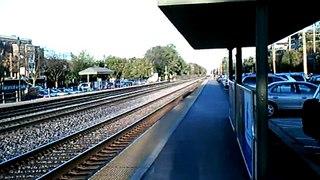 METRA Train in Glen Ellyn on October 28, 2008