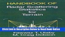 Read Handbook of Radar Scattering Statistics for Terrain (Artech House Remote Sensing Library)