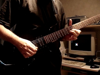 Electric Guitar Shred
