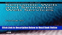 Download Introduction to the Semantic  Web and Semantic Web Services  Ebook Online