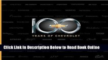 Read 100 Years of Chevrolet  Ebook Free