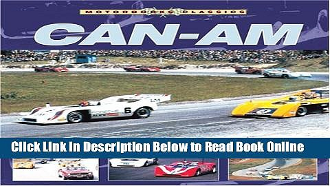 Read Can-Am (Motorbooks Classic)  PDF Online