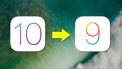 iOS 10'dan 9.3.2'ye Nasıl Geri Dönülür? [Downgrade]