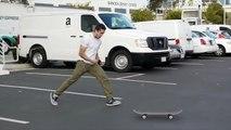 Tous les essais et chutes d'un Skateur pour réussir un Tricks - Laser Flip Triple Set BATTLE - Christian Flores