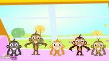 Five Little Monkeys - Cinco Macaquinhos