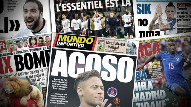 Le PSG harcèle Neymar, Gonzalo Higuain scelle son mercato