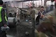 Kamikaze contro bus a Kabul, morti e feriti