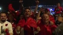 Euro-2016: les Albanais en liesse, espèrent une qualification