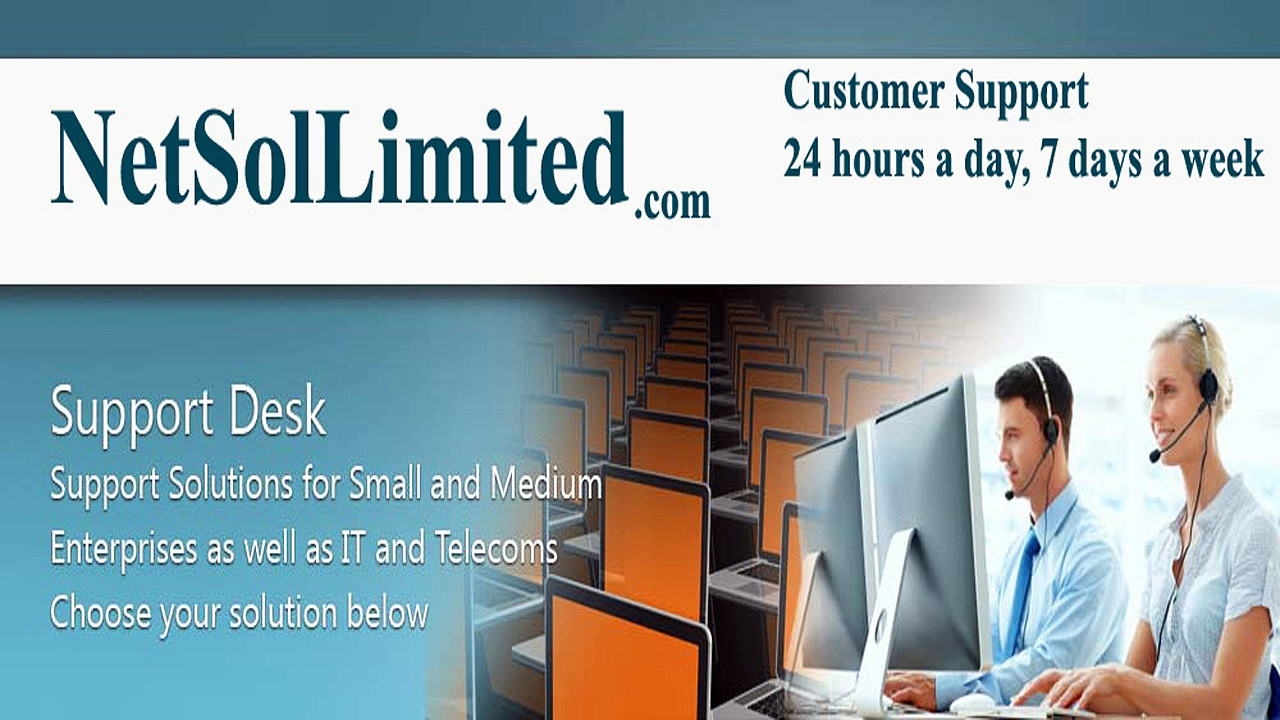 Web Development, Web Hosting & IT Desktop Support – NetSol Limited