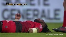 Ma'a Nonu knocked out by Anthony Tuitavake