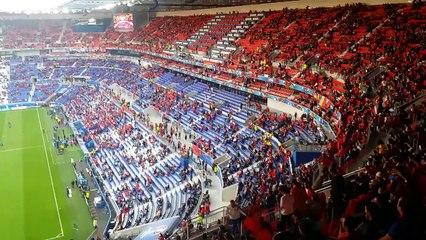 Une magnifique soirée de foot au stade des Lumières pour les bénévoles du tournoi