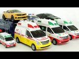 Ambulance Carbot Tobot Transformers Robot Car Toys 헬로카봇 댄디 구급차 제트렌 또봇 트랜스포머 펜타스톰 자동차 장난감 변신 동영상