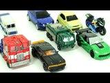 Transformers Autobot Carbot Tobot Transformation Robot Car Toys 카봇 또봇 트랜스포머 파워어택커즈 장난감 로봇 변신 동영상