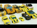 Yellow Color Transformers Autobot Bumblebee Carbot Tobot Robot Car Toys 노란색 트랜스포머 범블비 카봇 또봇 장난감 변신