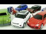 Transformers Carbot Suv Cars Robot Car Toys 트랜스포머 옵티머스프라임 카봇 짚차 이보크 우르스 터닝메카드 자동차 장난감 로봇 변신 동영상
