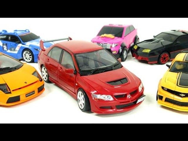 Carbot Tobot Transformers Transformation Robot Car Toys 미쓰비시 랜서 에블루션 카봇 제트렌 또봇 트랜스포머 자동차 장난감 변신 동영상