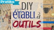 Fabriquer un établi maison pour ranger vos outils- Gaël gagne du temps