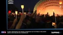 Attentat d'Orlando : Une veillée aux chandelles en hommage aux victimes rassemble 50 000 personnes (Vidéo)