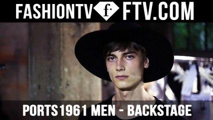 Milan Men Fashion Week Spring/Summer 2017 - Ports 1961 Backstage   FTV.com