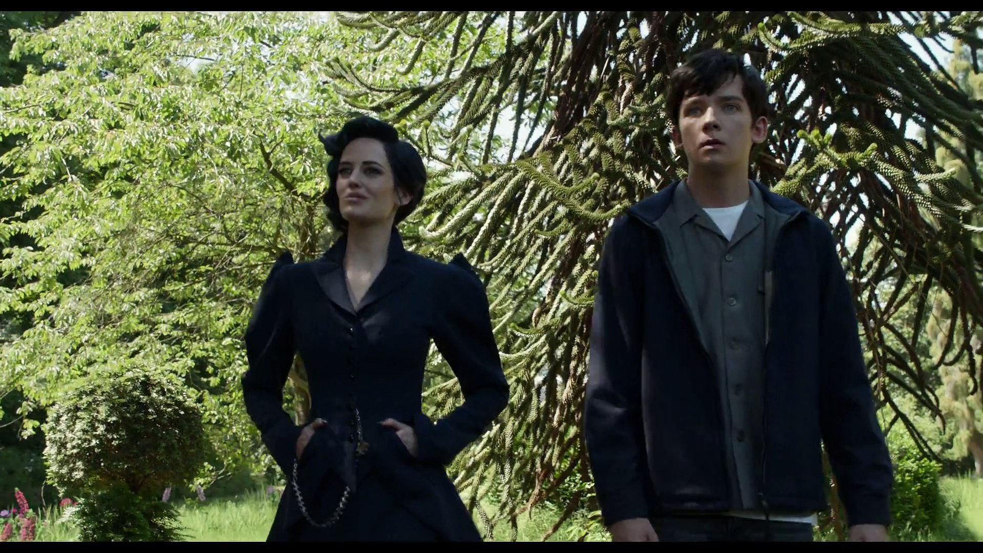 Miss Peregrine S Home For Peculiar Children Official Trailer 2
