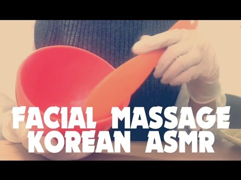 한국어 ASMR 롤플레이: Skin massage RolePlay 피부관리실