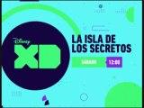 """PROMO """"LA ISLA DE LOS SECRETOS""""  (25-6-2016) EN DISNEY XD - NUEVO LOGO"""