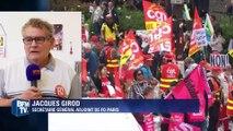 """Jacques Girod (FO): """"Les casseurs font des dégradations devant les forces de l'ordre"""""""