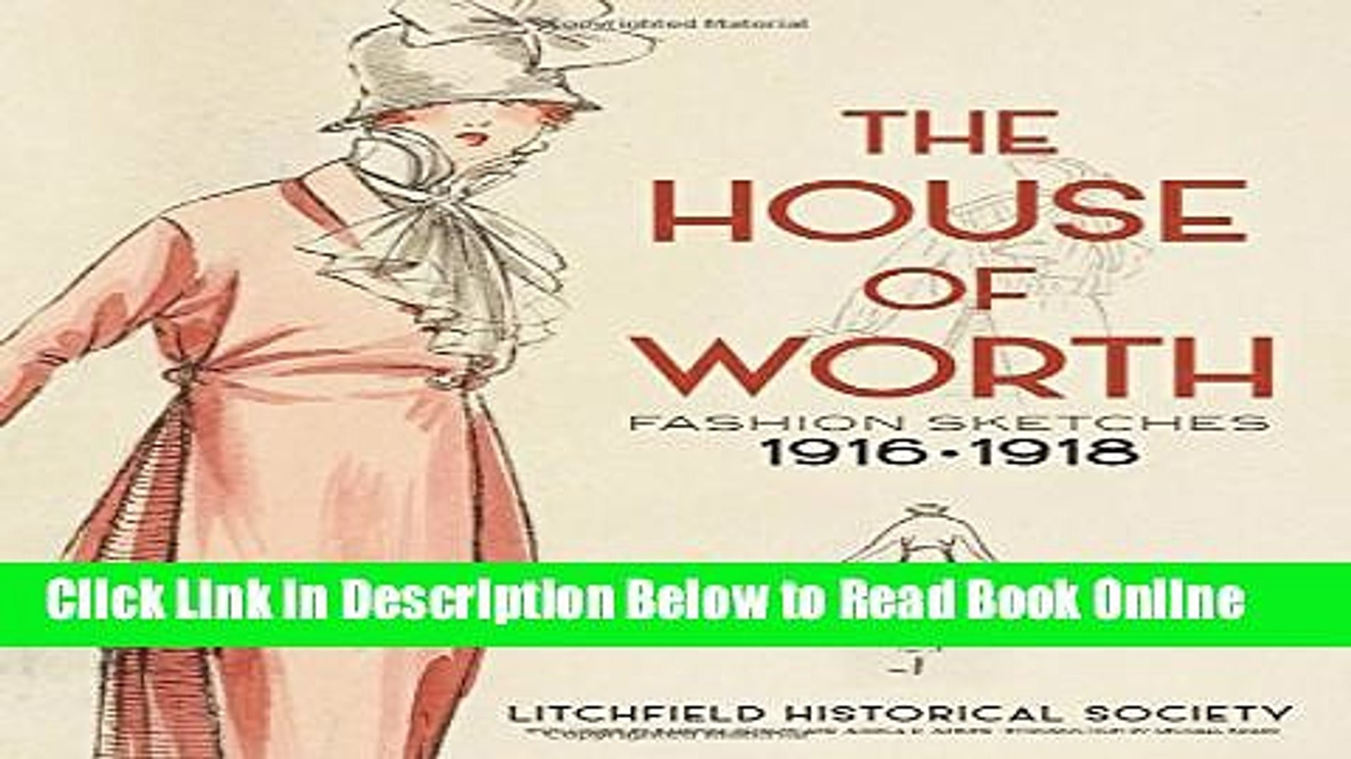 Download The House of Worth: Fashion Sketches, 1916-1918  Ebook Online