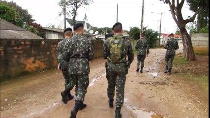 Exército e Saúde promovem mutirão contra a dengue em PG