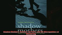 Read here Shadow Mothers Nannies Au Pairs and the Micropolitics of Mothering