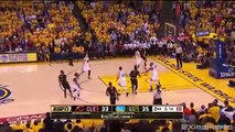 LeBron Blocks Steph Curry & Exchange Words - Cavaliers vs Warriors - Game 7 - 2016 NBA Finals