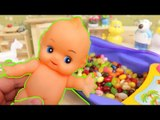 Baby Doll Bathtime Jelly Belly Bean & Learn Colors Surprise CANDY PeppaPig Anpanman Larva TOY