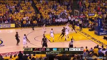 LeBron Blocks Steph Curry & Exchange Words | Cavaliers vs Warriors - Game 7 | 2016 NBA Finals
