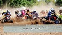 Never give up! Monta #25 Quad MX crash
