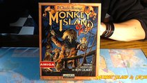 Monkey Island 2 LucasArts 1991.Amiga game box (14).Boîte jeu