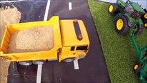 RC Truck 4WD sand crash Jamara dump truck and RC tractor bruder John Deere