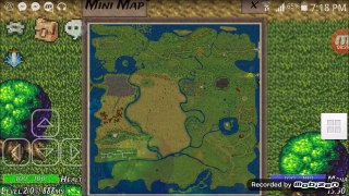 (Winter Sun) android  online MMORPG GAME # 1 The beginning
