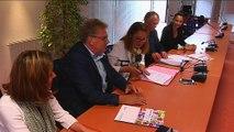 Signature Ugecam et Mutualité Française Bretagne et Pays de la Loire mai 2016 (Mutualité Française Bretagne)