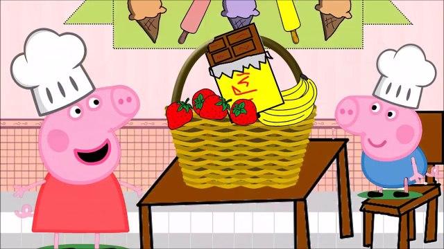 Peppa Pig Festa do Sorvete e do Picolé Para a Turma da Escola   Peppa Pig and Ice Cream Party