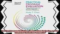 complete  Practical Program Evaluation TheoryDriven Evaluation and the Integrated Evaluation