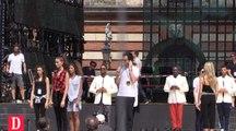 Répétitions à Toulouse, place du Capitole, pour la Fête de la musique