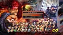 Super Street Fighter IV - Evil Ryu vs Oni - Gameplay PC Steam