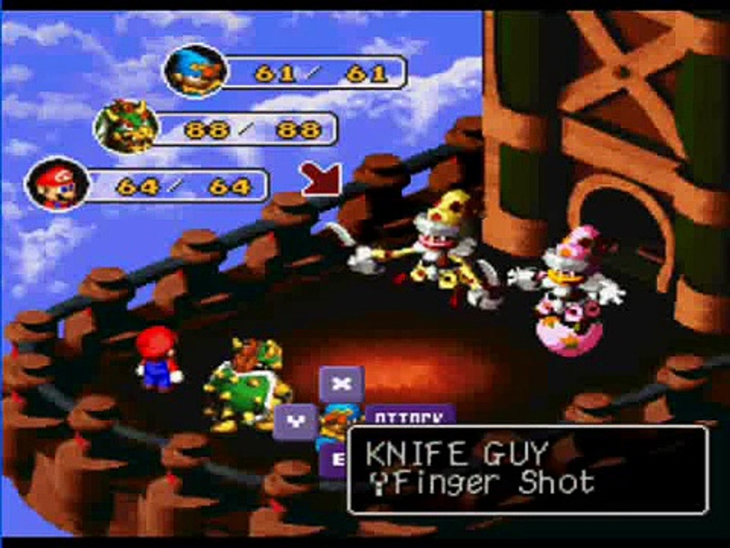 Let's Play Super Mario RPG part 29: A Clown and a Minigame