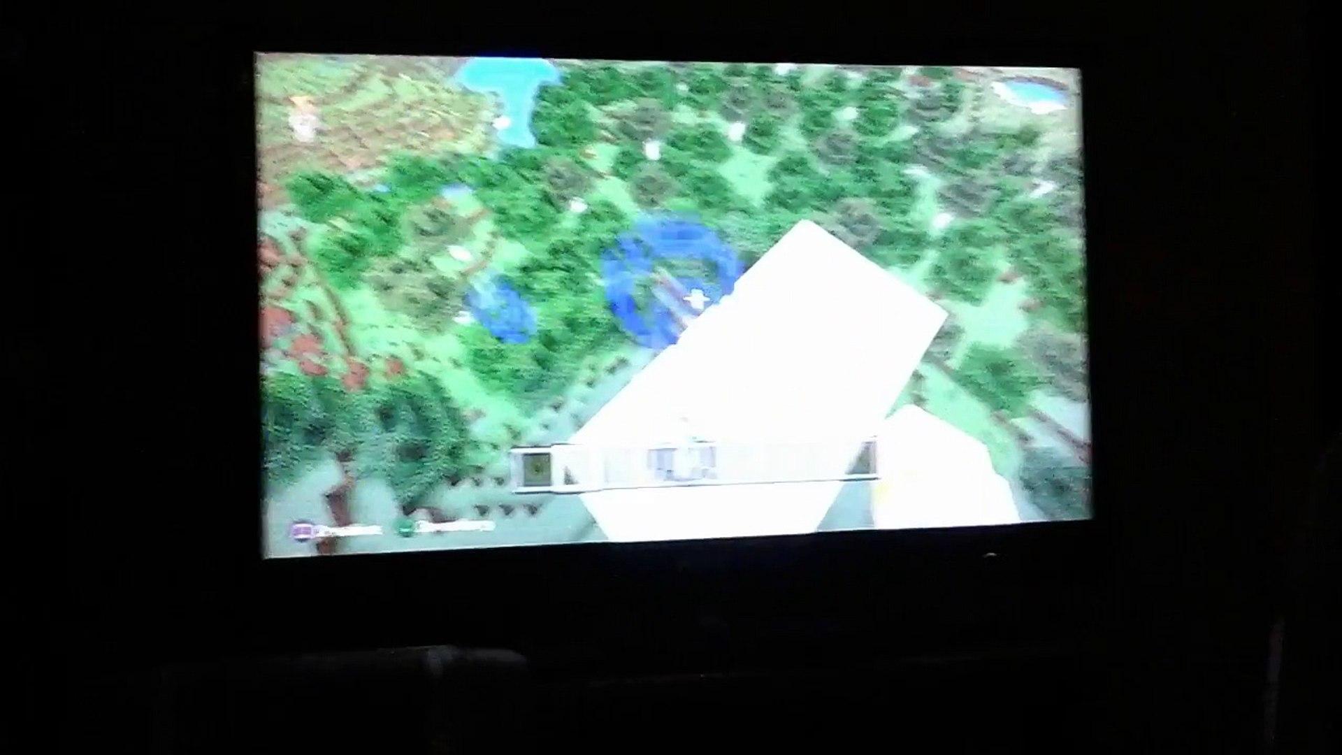 SNOW BLOCKS IN MOUNTAIN BIOME | Minecraft glitches