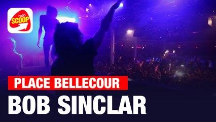 Bob Sinclar et Big Ali - Fan Zone de Lyon avec Radio Scoop