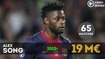 Flop 10 des transferts du Barça