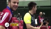 Le pongiste Fan Zhendong réalise un coup incroyable sous la table