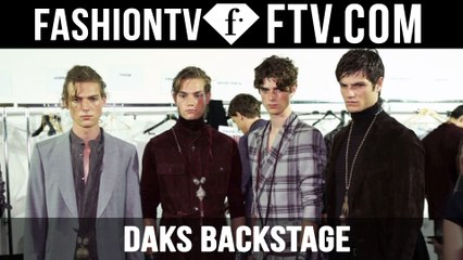 Milan Men Fashion Week Spring/Summer 2017 - Daks Backstage   FTV.com